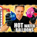 Hot Water Balloons Explode