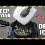 Deep Frying Dry Ice